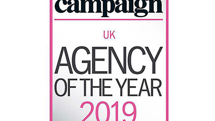Shortlisted for Campaign Agency of the Year UK