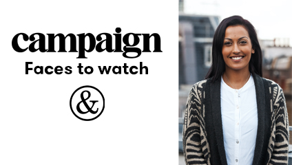 The&Partnership London talent named Campaign's 'Rising Star to Watch' 2020