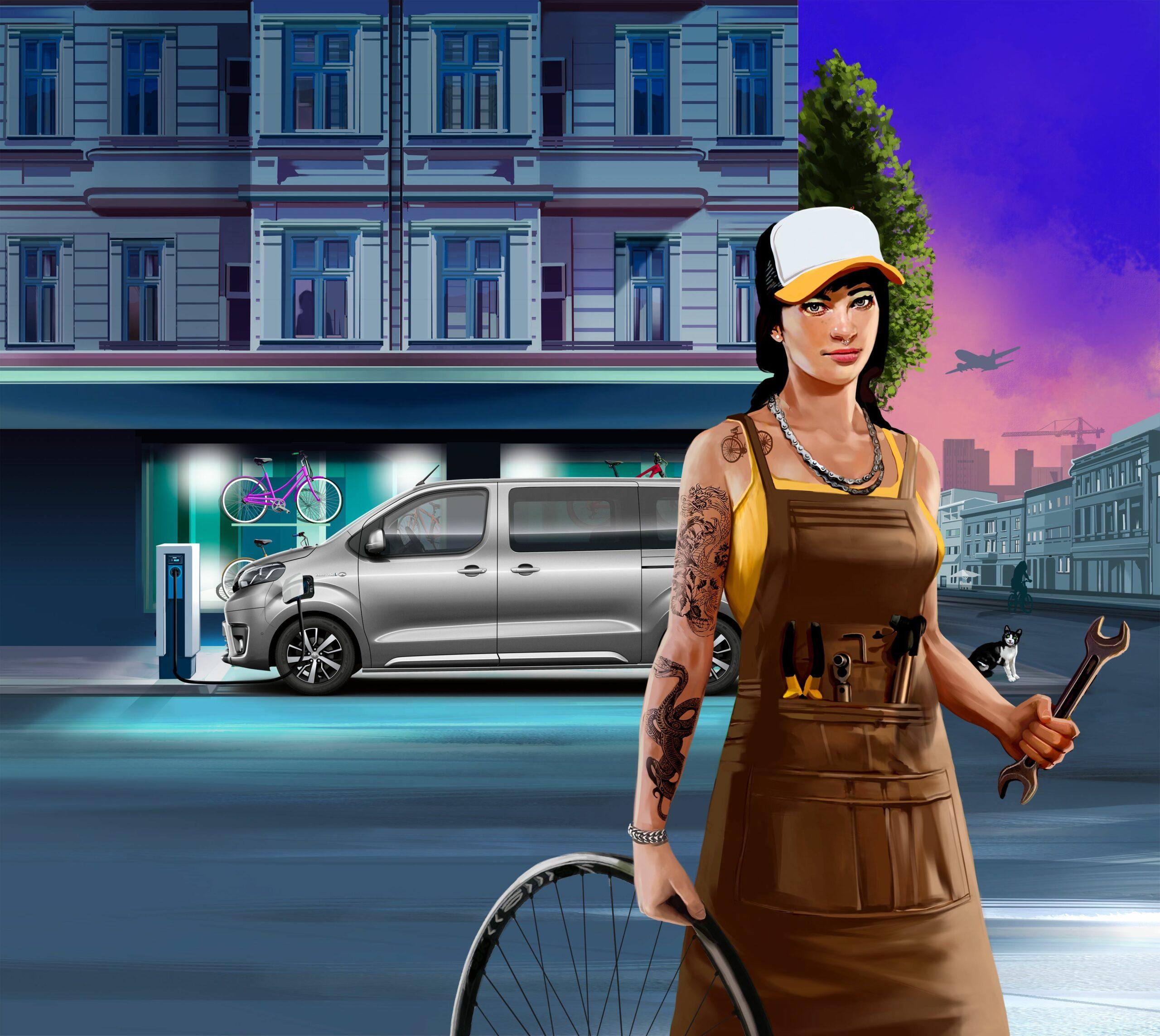 Toyota Professional geht mit Grand Theft Auto-Illustrator in die 2. Runde