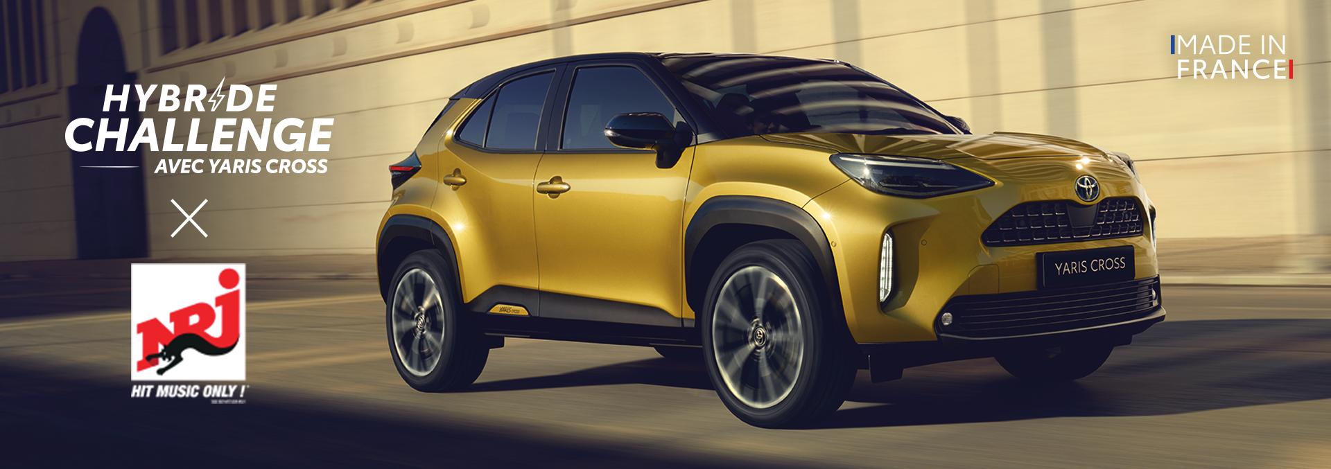 Toyota, The&Partnership et NRJ Global roulent ensemble pour l'hybride challenge